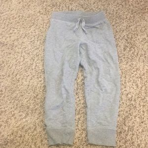 Jumping beans gray jogger terry pants